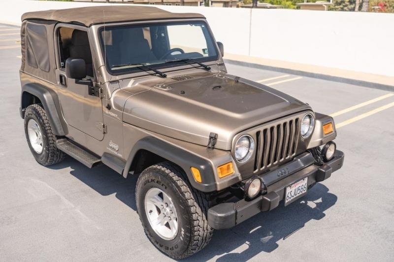 JEEP WRANGLER / TJ 2004 price $14,999