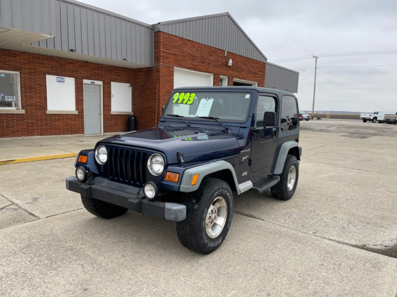 JEEP WRANGLER / TJ 2002 price $7,995