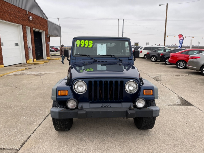 JEEP WRANGLER / TJ 2002 price $8,995
