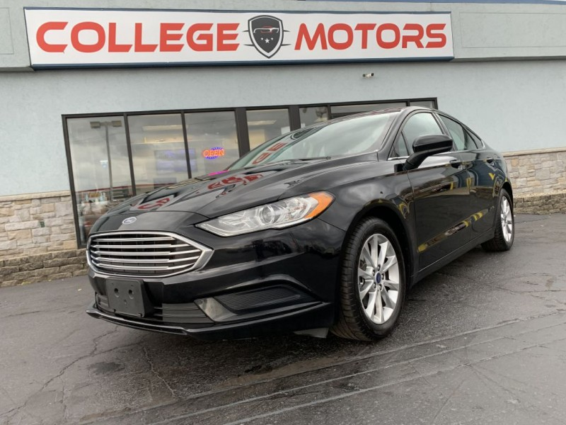 FORD FUSION 2017 price $13,375