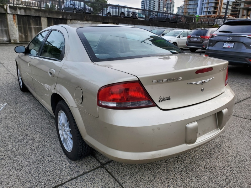 Chrysler Sebring 2005 price $2,495