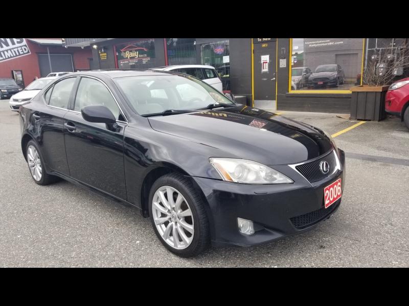 Lexus IS 250 2006 price $6,950