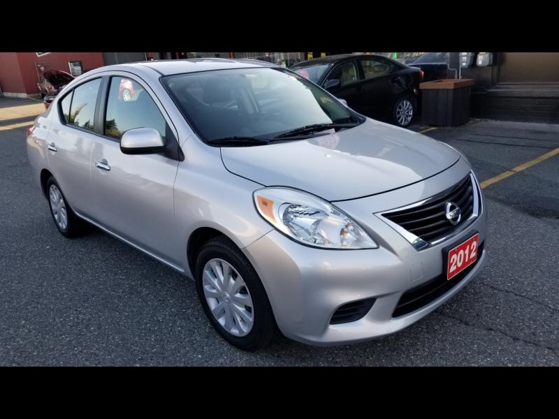 Nissan Versa 2012 price $6,950