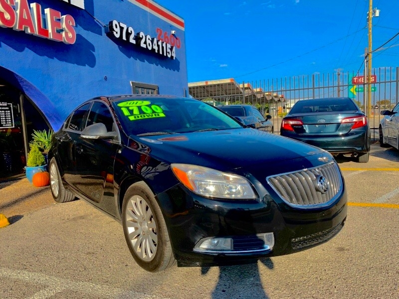 Buick Regal 2012 price $1,300 Down