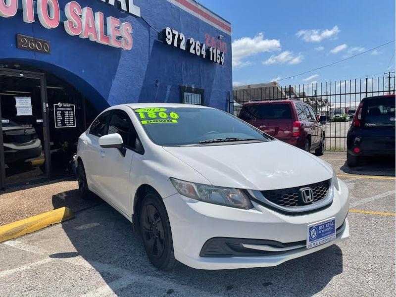 Honda Civic Sedan 2014 price $1,800 Down