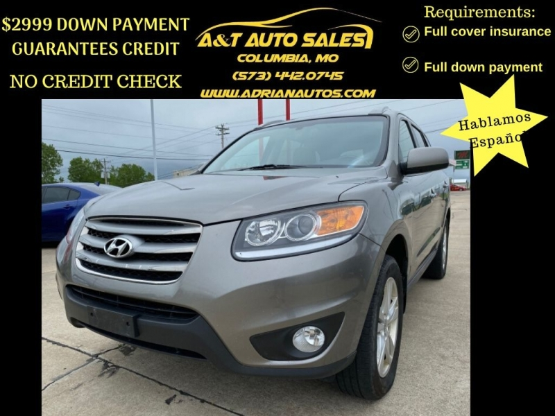 Hyundai Santa Fe 2012 price $5,499 CASH