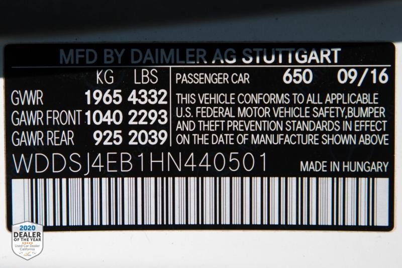 Mercedes-Benz CLA 2017 price $21,900