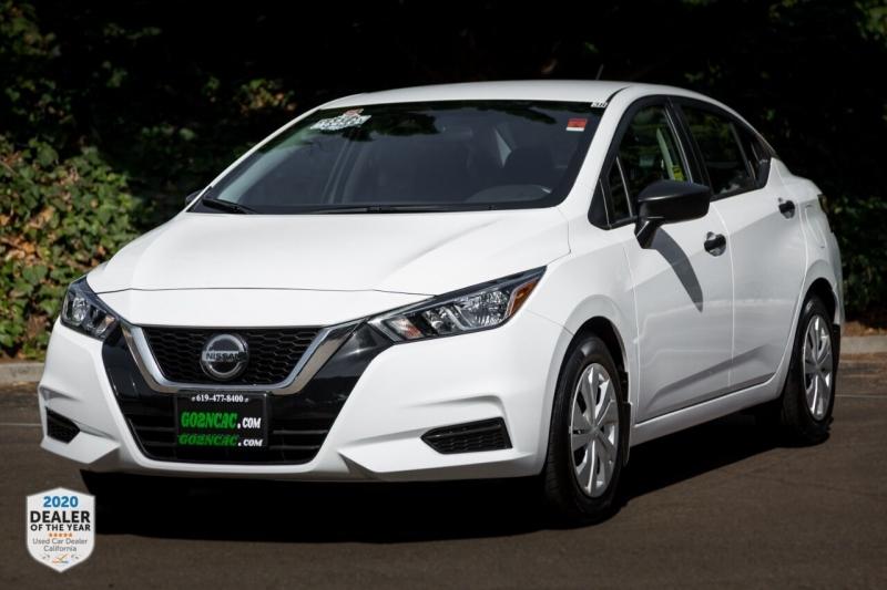 Nissan Versa 2020 price $14,700