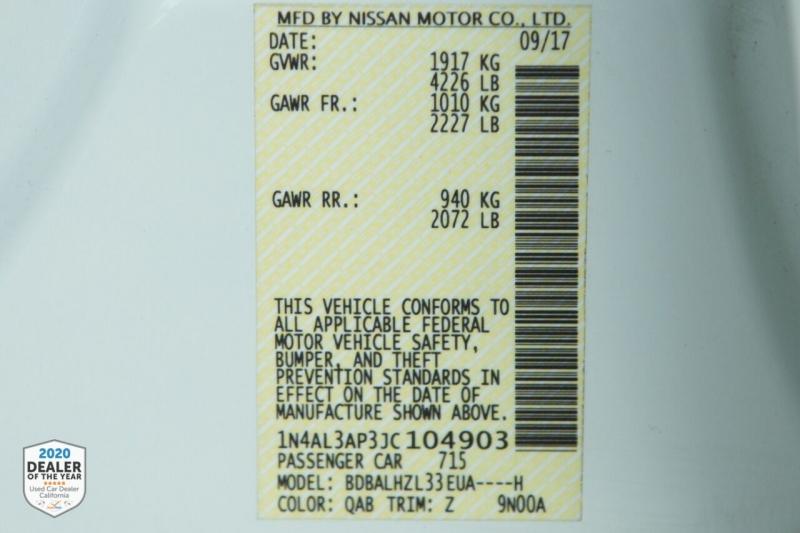 Nissan Altima 2018 price $16,498