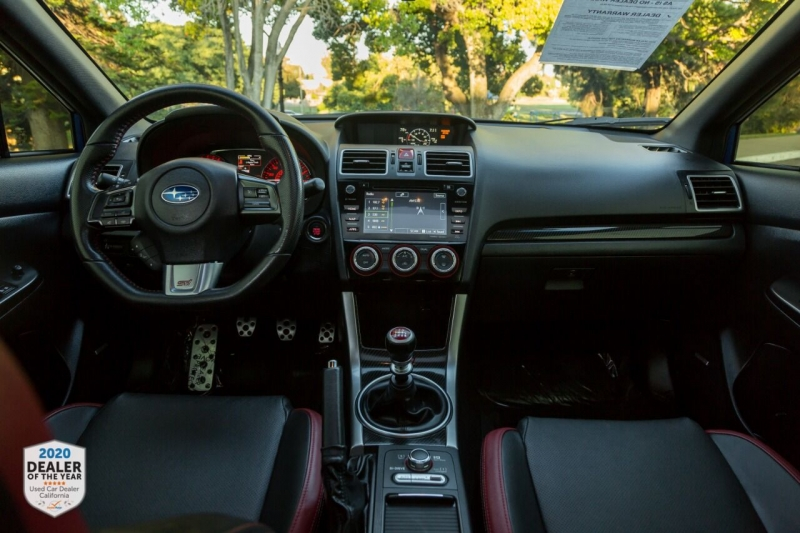 Subaru WRX 2017 price $34,900