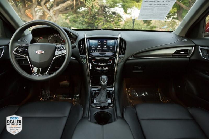 Cadillac ATS 2018 price $23,498