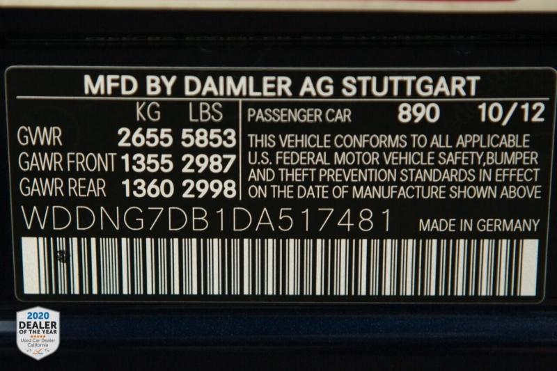 Mercedes-Benz S-Class 2013 price $22,700