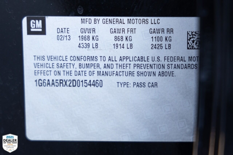 Cadillac ATS 2013 price $14,700