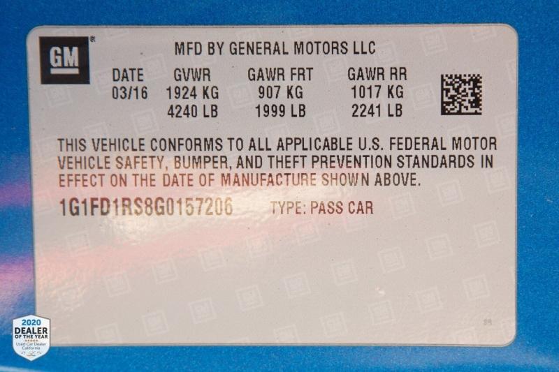 Chevrolet Camaro 2016 price $21,990