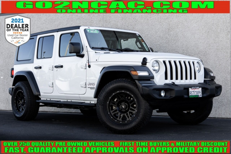 Jeep Wrangler Unlimited 2018 price $36,970