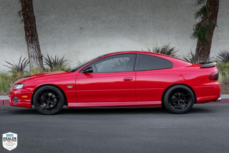 Pontiac GTO 2005 price $21,900