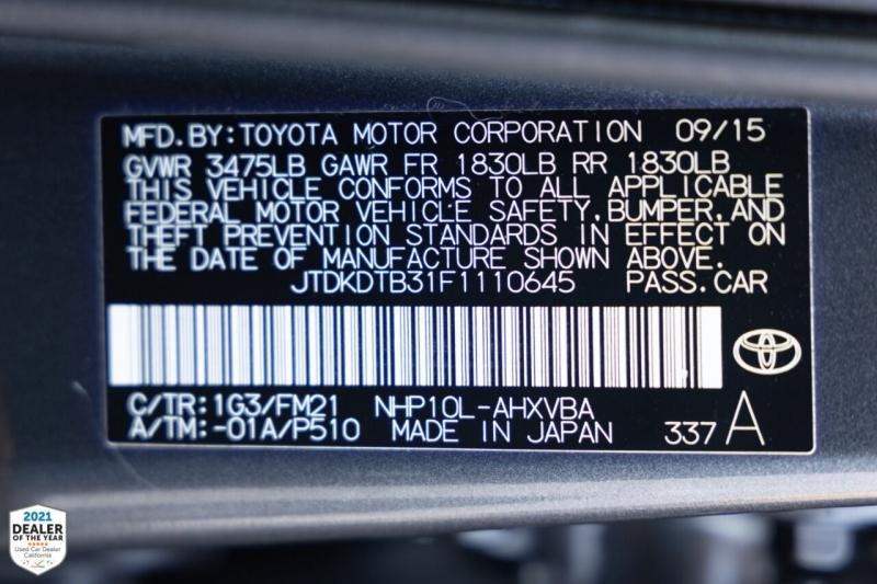 Toyota Prius c 2015 price $13,900