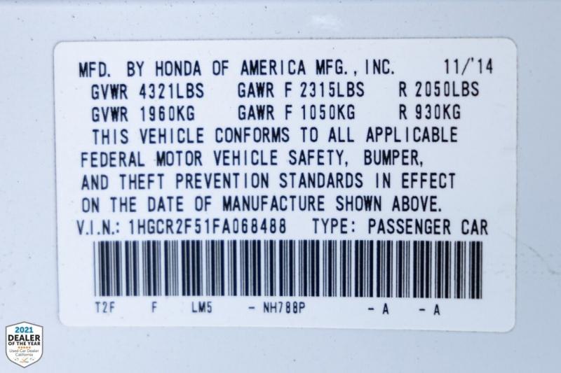 Honda Accord 2015 price $17,990