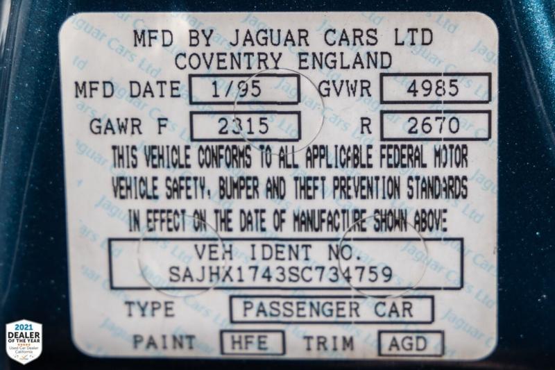 Jaguar XJ-Series 1995 price $10,900