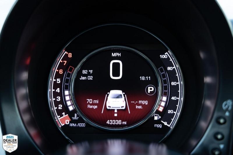FIAT 500 2016 price $12,900