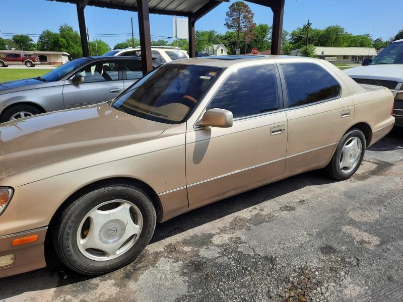 Lexus LS 400 2000 price $8,499